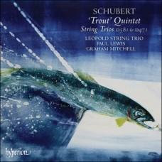 舒伯特:鱒魚五重奏 D667、弦樂三重奏 D471, D581 Schubert:Trout Quintet D667, String Trios D471