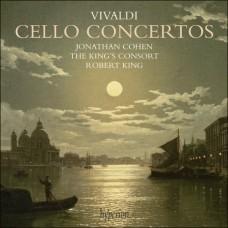 韋瓦第:大提琴協奏曲集 Vivaldi:Cello Concertos (Jonathan Cohen,cello | The King's Consort | Robert King, conductor)