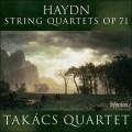 海頓:弦樂四重奏作品71 Haydn:String Quartets Op. 71 (Takács Quartet)