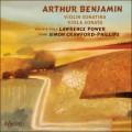 班傑明:小提琴奏鳴曲、中提琴奏鳴曲 Benjamin:Violin Sonatina & Viola Sonata