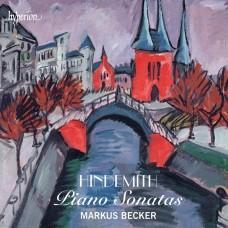 亨德密特:鋼琴奏鳴曲 Hindemith:Piano Sonatas (Markus Becker)