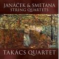 楊納傑克&史麥塔納:弦樂四重奏 (塔卡許四重奏) Janáček & Smetana:String Quartets (Takács Quartet)