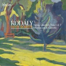 高大宜:弦樂四重奏 Kodály:String Quartets, Intermezzo & Gavotte