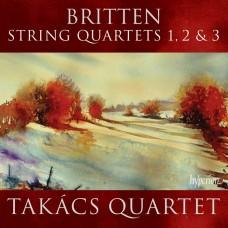布列頓:弦樂四重奏一~三號 Britten:String Quartets Nos 1, 2 & 3
