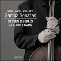 伊瑟利斯/巴哈、韓德爾&史卡拉第:古大提琴奏鳴曲 JS Bach, Handel & Scarlatti:Gamba Sonatas (S. Isserlis, cello / R. Egarr, harpsichord)