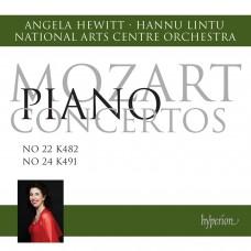 莫札特:鋼琴協奏曲第22、24號 (安潔拉.修薇特, 鋼琴) Mozart:Piano Concertos Nos. 22 & 24 (Angela Hewitt)