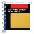 歐恩斯坦:鋼琴五重奏、第二號弦樂四重奏 Ornstein:Piano Quintet & String Quartet No. 2 (Marc-Andre Hamelin, Pacifica Quartet)