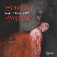 齊瑪諾夫斯基、米凱廷:弦樂四重奏 Szymański & Mykietyn:Music for string quartet