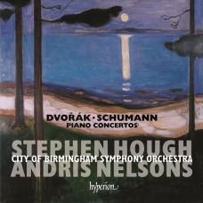 德佛札克、舒曼:鋼琴協奏曲 (史帝芬.賀夫, 鋼琴 / 尼爾森斯, 指揮 / 伯明罕市立交響樂團) Dvorvak, Schumann:Piano Concertos (Stephen Hough, piano / Andris Nelsons /  City of Birmingham Symphony Orchestra)