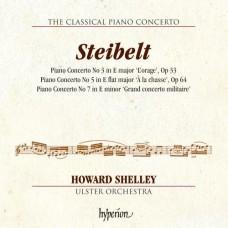 古典鋼琴協奏曲第2集 -  丹尼爾.史泰貝爾特 (霍華.薛利, 鋼琴) The Classical Piano Concerto 2 - Steibelt:Piano Concertos Nos. 3, 5 & 7 (Howard Shelley)