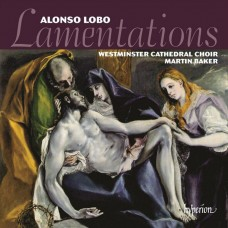 羅伯:耶利米哀歌集 (馬丁.貝克 / 西敏寺大教堂合唱團) Lobo:Lamentations (Westminster Cathedral Choir, Martin Baker)