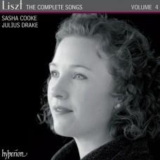 李斯特:藝術歌曲全集 Vol. 4 (莎夏.庫克, 女中音 / 朱利爾斯.德瑞克, 鋼琴) Liszt:The Complete Songs, Vol. 4 (Sasha Cooke, mezzo-soprano / Julius Drake, piano)