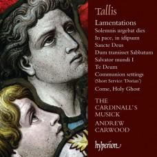 塔利斯:耶利米哀歌、至聖之神啊、感恩頌歌與其他作品 Tallis:Lamentations (The Cardinall's Musick, Andrew Carwood)