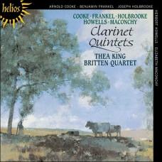 英國單簧管五重奏作品 English Clarinet Quintets