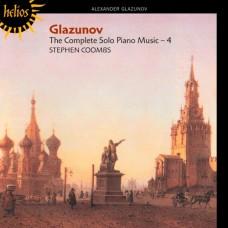 葛拉祖諾夫:鋼琴作品全集第四集 Glazunov:The Complete Solo Piano Music 4