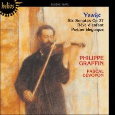 易沙意:六首無伴奏小提琴奏鳴曲 Ysaÿe:Sonatas for solo violin & other works