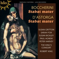 包凱里尼、阿斯托爾加:聖母悼歌 Astorga & Boccherini:Stabat mater (The Choir of the King's Consort, Robert King)