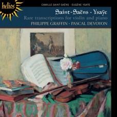 聖桑、易沙意:罕見小提琴改編作品 Saint-Saëns & Ysaÿe:Rare transcriptions for violin and piano
