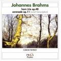 布拉姆斯:法國號三重奏op.40、小夜曲op.11(九重奏改編版) Brahms:Serenade No. 1 Op.11 - original version for Nonet、Trio for Horn Op.40