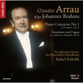 (SACD) 布拉姆斯:第一號鋼琴協奏曲、韓德爾主題變奏與賦格 (阿勞, 鋼琴 / 庫貝利克 / 巴伐利亞廣播交響樂團) (SACD) Brahms / C.Arrau plays Brahms