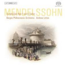 孟德爾頌:第一、四號交響曲「義大利」 Mendelssohn:Symphonies 1 and 4 'Italian'