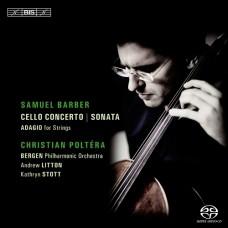 巴伯:大提琴協奏曲&奏鳴曲 Barber:Cello Concerto & Sonata