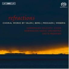 折射~瓦倫、貝爾格、梅湘與魏本的合唱音樂 Refractions:Choral Works by Valen, Berg, Messiaen & Webern