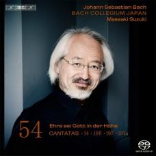 巴哈:清唱劇第54集 - BWV 100, 14, 197, 197a Bach:Cantatas Vol.54 - BWV 100, 14, 197, 197a