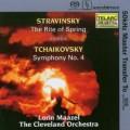 史特拉汶斯基:春之祭;柴可夫斯基:第4號交響曲 Stravinsky:The Rite of Spring;Tchaikovsky:Symphony No.4