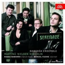 馬替努、尼爾森 & 凱克蘭:小夜曲 (拉德克.巴伯羅柯, 法國號 / 溫澤爾.福克斯, 豎笛 / 巴伯羅柯合奏團) Martinu、Nielsen & Koechlin:Serenade (Baborak Ensemble)