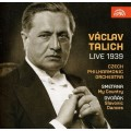 塔利許1939年現場演出~史麥塔納:我的祖國、德佛札克:斯拉夫舞曲第二集 Vaclav Talich Live 1939