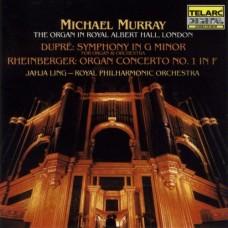 杜普瑞:g小調交響曲、萊茵柏格:F大調第一號管風琴協奏曲 Dupré:Symphony in G minor、Rheinberger:Organ Concerto No. 1 in F