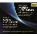 貝多芬:莊嚴彌撒、莫札特:c小調彌撒K427 Beethoven:Missa Solemnis、Mozart、Mass in C Minor