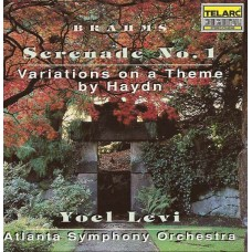 布拉姆斯:海頓主題變奏曲、D大調第1號小夜曲 Brahms:Serenade No. 1、Variations on a Theme by Joseph Haydn