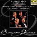 海頓:弦樂四重奏Op.76 No.5、柯瑞里安諾:弦樂四重奏(世界首度錄音) Cleveland Quartet:The Farewell Recording