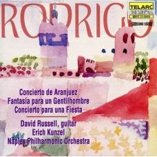 羅德里哥:阿蘭輝茲協奏曲、為某一貴紳的幻想曲、慶典協奏曲 Rodrigo:Aranjuez、Gentihombre、Fiesta