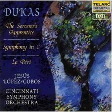 杜卡:魔法師的徒弟、C大調交響曲、謫仙   Music of Paul Dukas (Lopez-Cobos, Cincinnati Symphony Orchestra)
