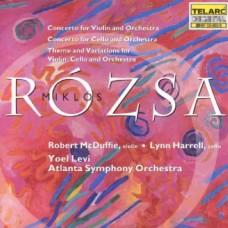 羅薩:小提琴協奏曲∕大提琴協奏曲∕為小提琴、大提琴與管絃樂團所寫的主題與變奏 Rozsa:Concerto for Violin and Orchestra, Concerto for Cello and Orchestra