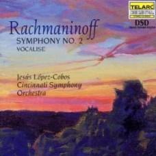 拉赫曼尼諾夫:第二號交響曲、練聲曲 Rachmaninoff:Symphony No.2、Vocalise (Lopez-Cobos, Cincinnati Symphony orchestra)
