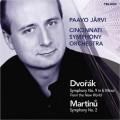 德佛札克:第9號交響曲《新世界》、馬替奴:第2號交響曲 Dvorak:Symphony No. 9、Martinu:Symphony No. 2 (Jarvi, Cincinnati Symphony Orchestra)