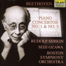 貝多芬:第一、三號鋼琴協奏曲 Beethoven:Piano Concertos Nos. 1 & 3 (Rudolph Serkin, Boston Symphony Orchestra, Seiji Ozawa)