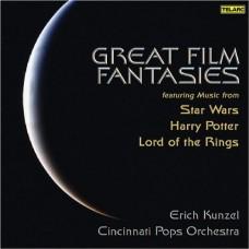 (絕版)偉大電影幻想曲《星際大戰》《哈利波特》《魔戒》的音樂  Great Film Fantasies
