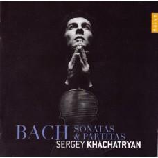 巴哈:無伴奏小提琴 Bach, J S: Sonatas & Partitas for solo violin, BWV1001-1006  (哈察特楊 Sergey Khachatryan ,violin)
