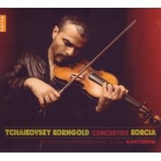 柴可夫斯基、康果爾德:小提琴協奏曲 Tchaikovsky & Korngold:Violin Concertos