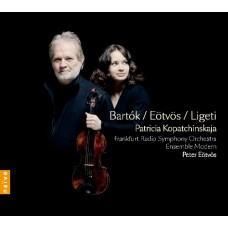 巴爾托克、艾特沃許 & 李蓋悌:小提琴協奏曲 (柯帕琴絲卡雅, 小提琴) Bartók、Eötvös & Ligeti:Violin Concertos (Patricia Kopatchinskaja, violin)