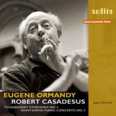 柴可夫斯基:第四號交響曲 | 聖桑:第四號鋼琴協奏曲 Tchaikovsky:Symphony No.4 | Saint-Saens:Piano Concerto No.4 (Ormandy / Casadesus)