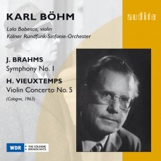 布拉姆斯:第一號交響曲、魏歐當:第五號小提琴協奏曲 Brahms:Symphony No. 1 & Vieuxtemps:Violin Concerto No. 5 (Bohm)