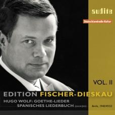 費雪迪斯考系列2 - 沃爾夫:藝術歌曲選 Edition Fischer-Dieskau Vol. 2 - Wolf's Goethe-Lieder