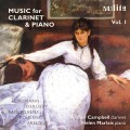 豎笛與鋼琴作品集 Vol. 1 Music for Clarinet & Piano Vol. 1  (A. Campbell)