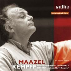 貝多芬:第三號鋼琴協奏曲 | 海頓:94號交響曲(馬捷爾) Beethoven:Piano Concerto No. 3 & Haydn:Symphony No. 94 (Maazel_Kempff)